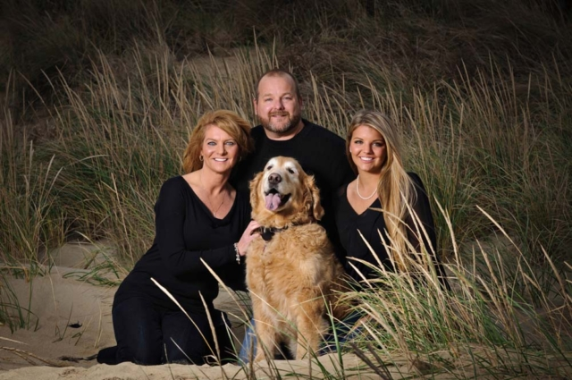 Family on the beach in Virginia Beach Virginia photography with Virginia Beach Photographer