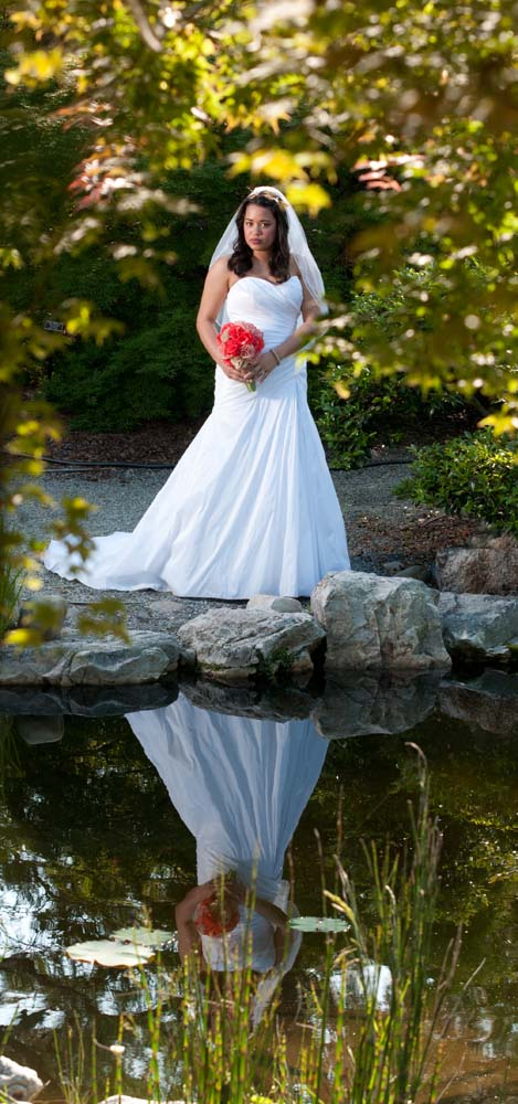 Norfolk Botanical Gardens Bride and wedding