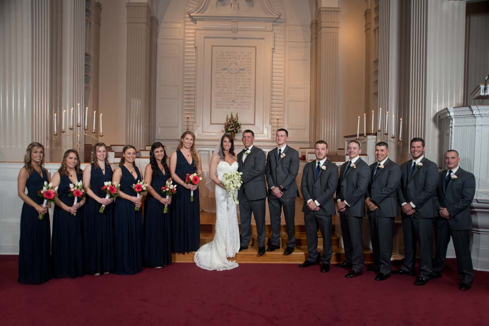 Norfolk Virginia Military wedding