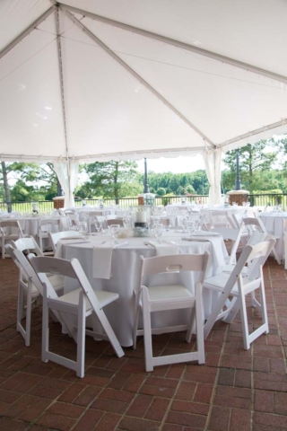 Signature wedding at the signature golf course