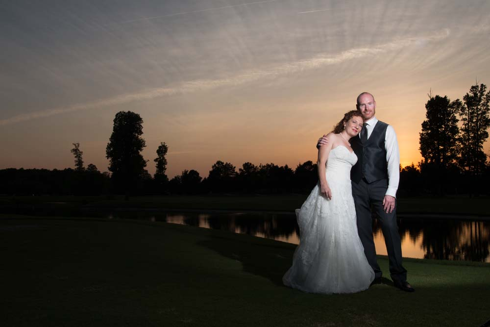 Virginia beach wedding at The Signature Golf Course