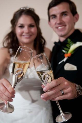 Smithfield station wedding with bride and groom in Smithfield virginia