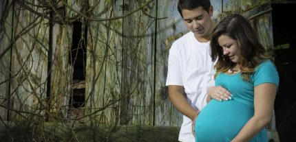 Maternity session on location